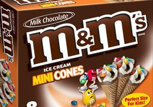 M&M's Brand Ice Cream Cookies and Cones Line Extension