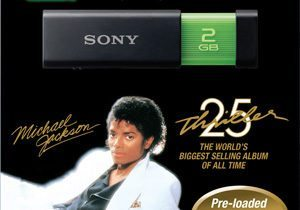 Sony Micro Vault Click Michael Jackson Promotion