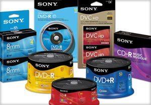 Sony Media Full Line Redesign
